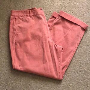 J. Crew Distressed Chino Pants